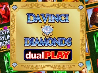 Da Vinci Diamonds: Dual Play Online Slot Free Play